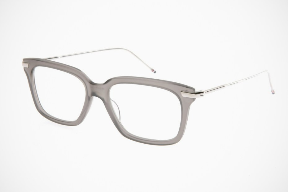 Image of Thom Browne TB-701 Gray Glasses