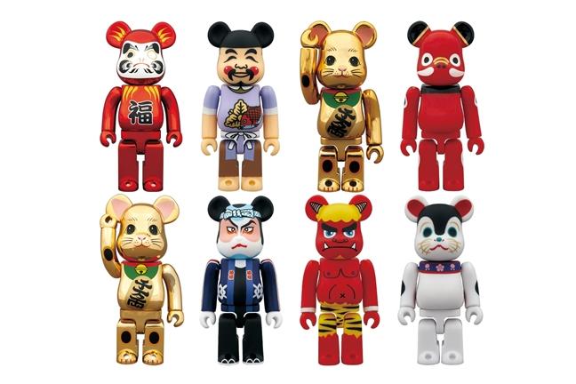 "Image of TOKYO SKYTREE x Medicom Toy 400% Bearbrick ""Manekineko Daruma Gold"""