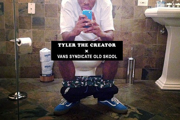 Image of Tyler, the Creator x Vans Syndicate Old Skool Preview