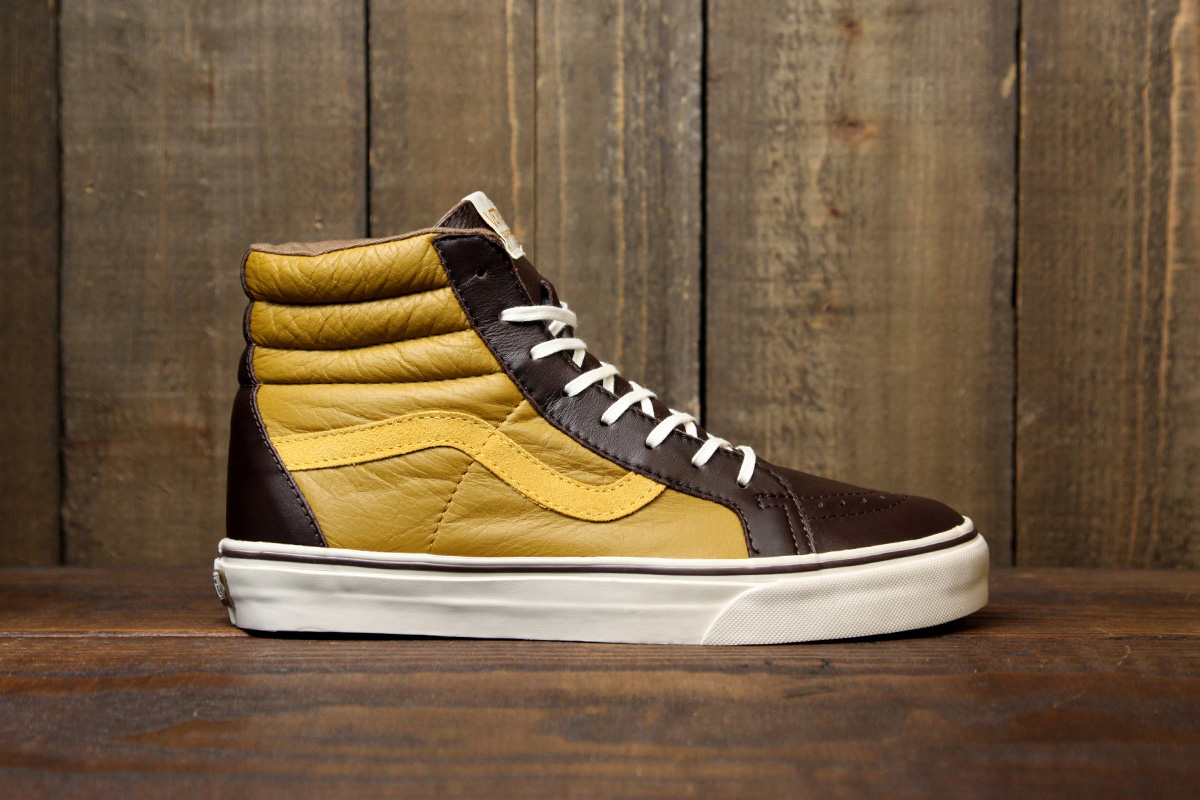 Image of Vans 2012 Holiday Leather Era 59 & Sk8-Hi CA Collection