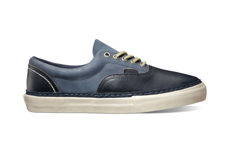 "Image of Horween x Vans Vault ""Black & Navy"" Era Pack"