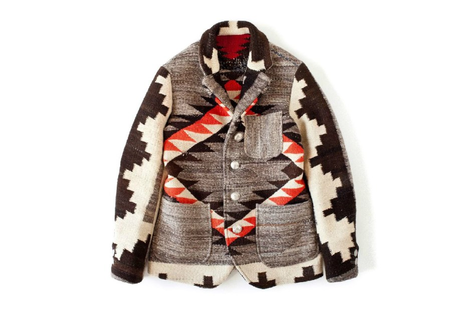Image of visvim 2012 Winter Navajo Blanket Hoppiland Jacket