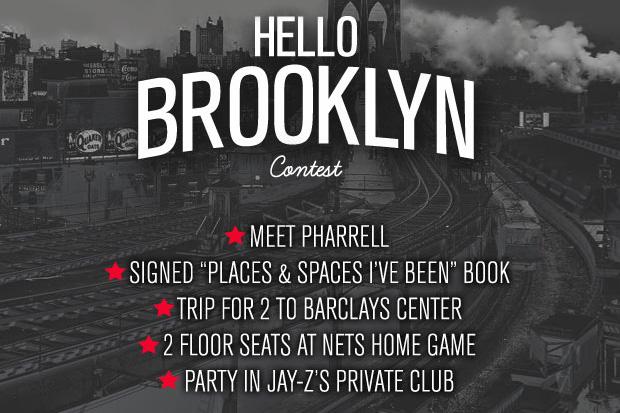 "Image of Meet Pharrell and sit in Jay-Z's Floor Seats! Karmaloop & Billionaire Boys Club Present: The ""Hello Brooklyn"" Contest"