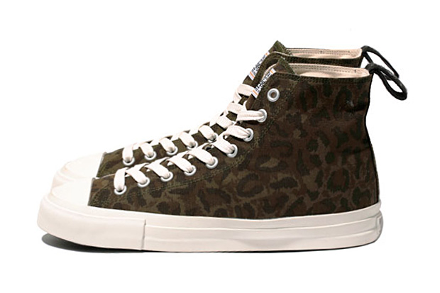 Image of WTAPS LEOPARD SNEAKER. COTTON. RIPSTOP