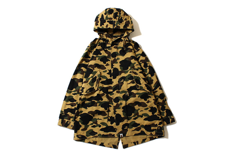 Image of A Bathing Ape 2013 Spring 1ST CAMO ARMY JACKET