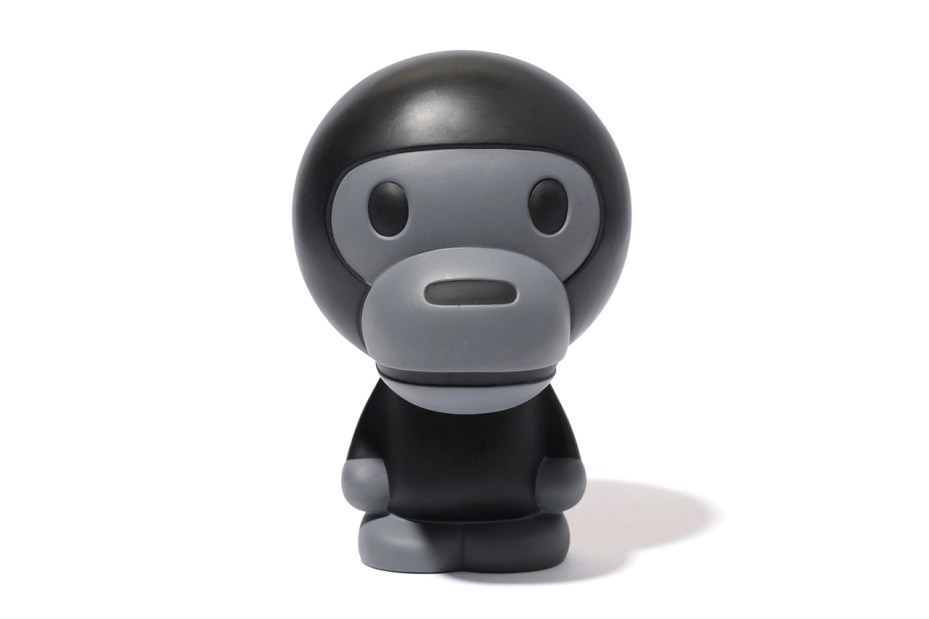 Image of A Bathing Ape 2013 Spring/Summer BABY MILO Black & Grey Figure