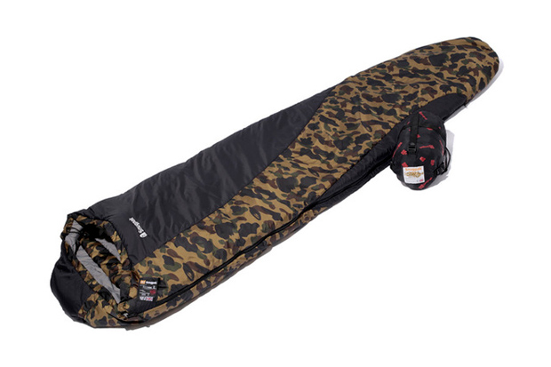 Image of A Bathing Ape x Snugpak SOFTIE TECHNIK Sleeping Bag