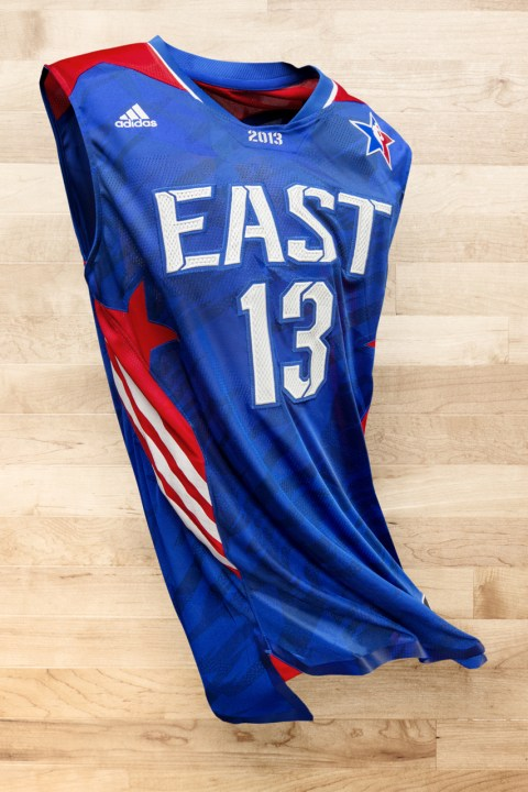 Image of adidas Basketball Unveils 2013 NBA All-Star Uniforms