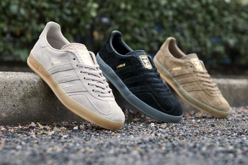"Image of adidas Originals 2013 Spring Gazelle Indoor ""Tonal Pack"""