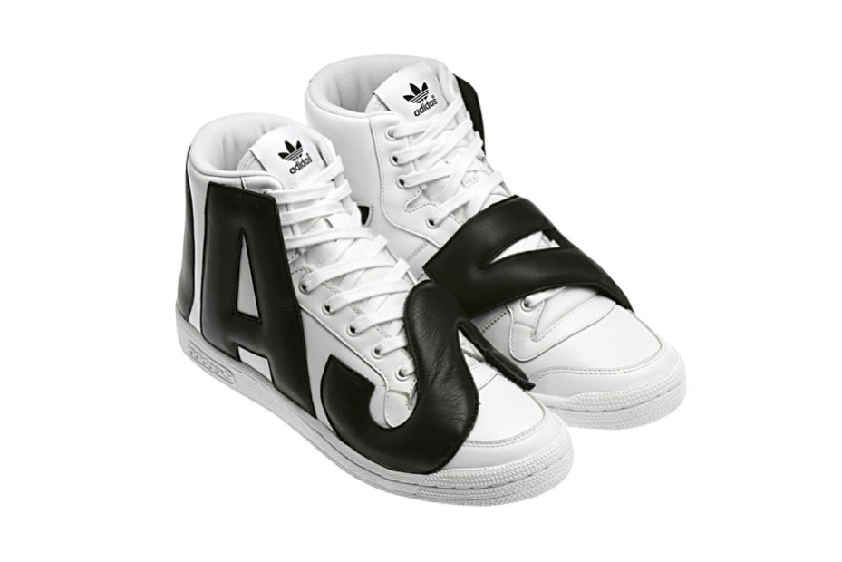 Image of adidas Originals by Jeremy Scott JS P-LETTERS LEATHER