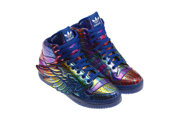 Image of adidas Originals by Jeremy Scott JS Wings &quot;Hologram&quot;