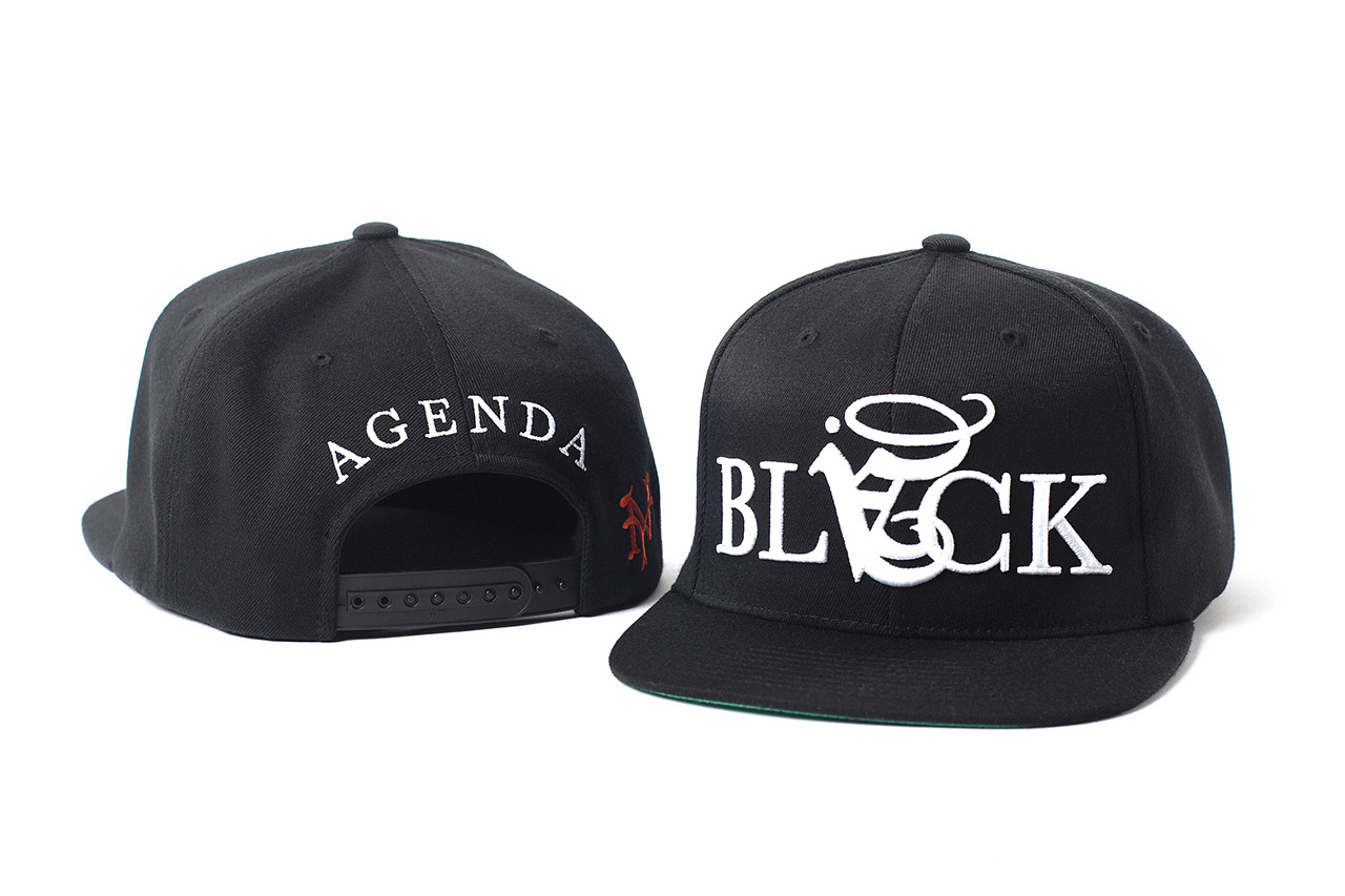 Image of Agenda 10th Anniversary Caps with Black Scale, BornxRaised, Poler Camping Stuff and OGABEL