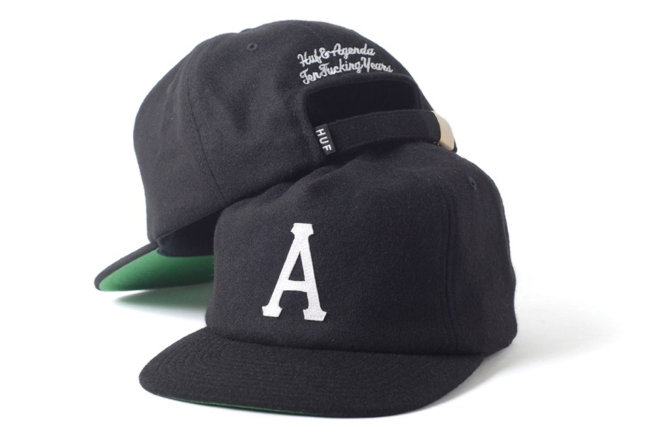 Image of Agenda 10th Anniversary Caps with SSUR, HUF and Staple Design