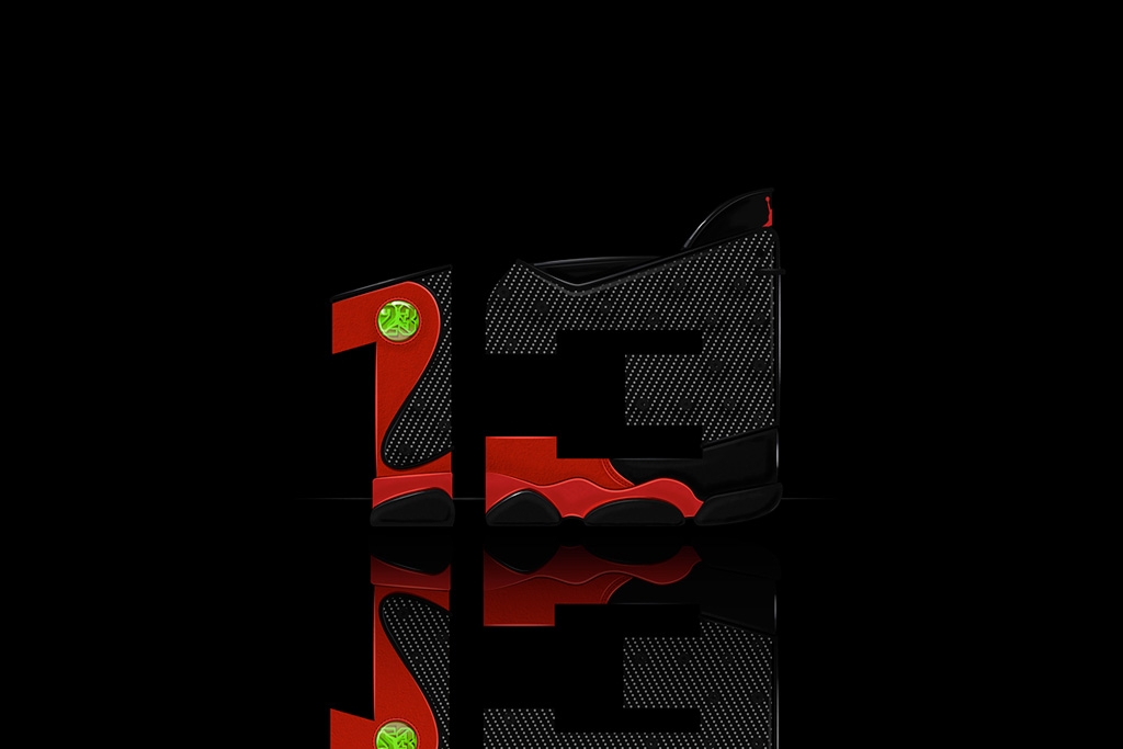 Image of Air Jordan Illustrated Font by 13th Collective & Will C. Smith