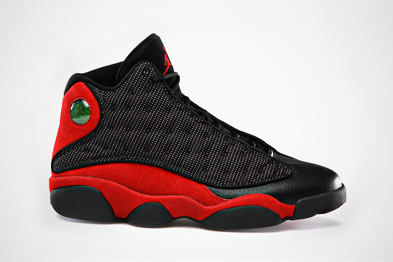 Image of Air Jordan 13 Retro Black/Varsity Red-White