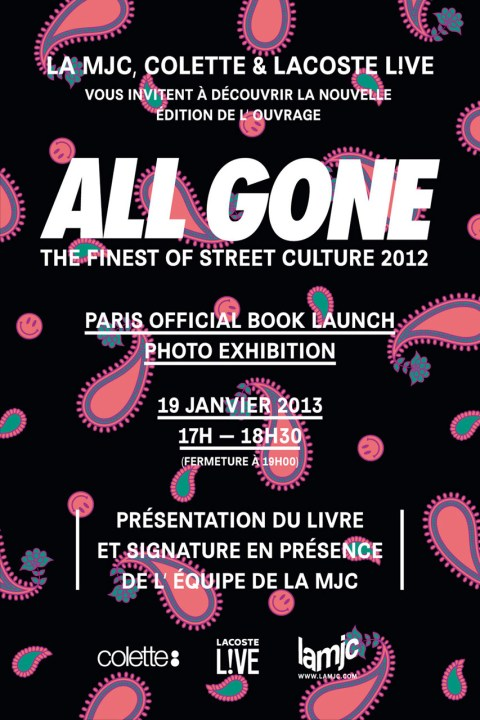 Image of ALL GONE 2012 Paris Launch