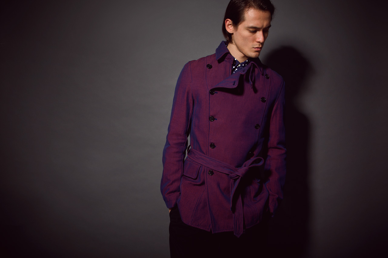 Image of Ann Demeulemeester 2013 Spring/Summer Trench Coat