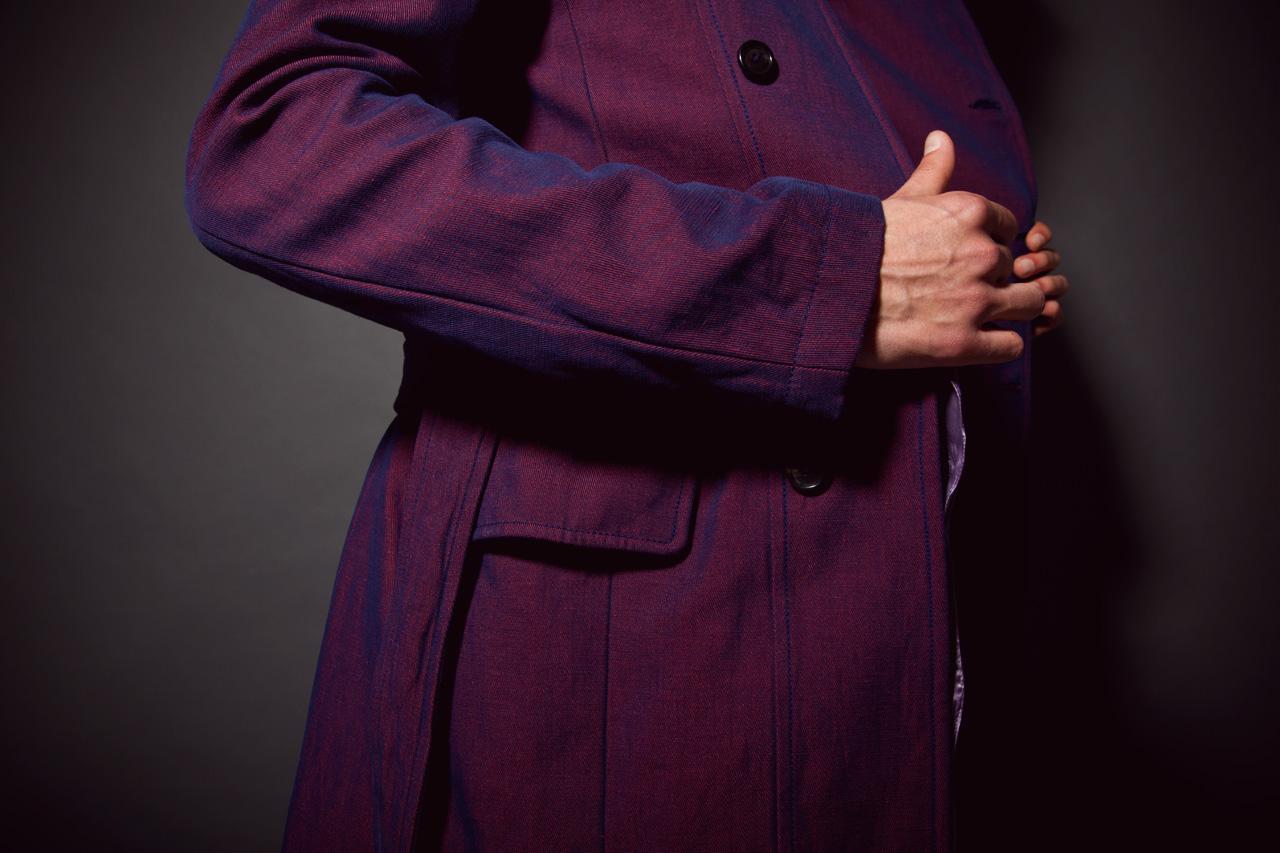Image of Ann Demeulemeester 2013 Spring/Summer Trench Coat