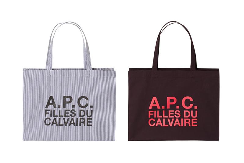 Image of A.P.C. Filles du Calvaire Tote Bags