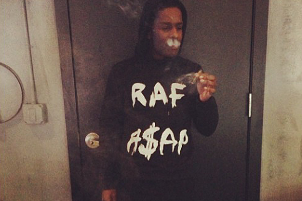Image of Is an A$AP Rocky x Raf Simons Collaboration in The Works?