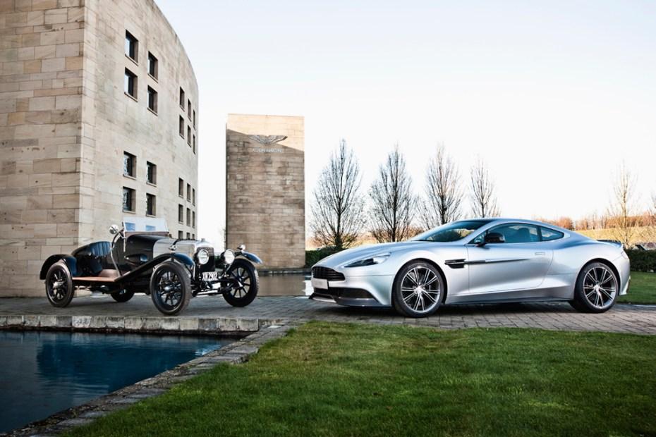 Image of Aston Martin Vanquish Centenary Edition