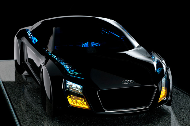 Image of Audi's New Automotive Lighting Technologies Debut at CES 2013