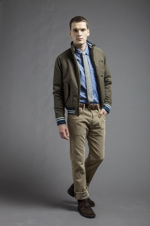 Image of Baracuta 2013 Fall/Winter Blue Label Collection