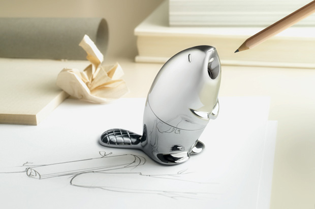 Image of Beaver Pencil Sharpener by Rodrigo Torres for Alessi