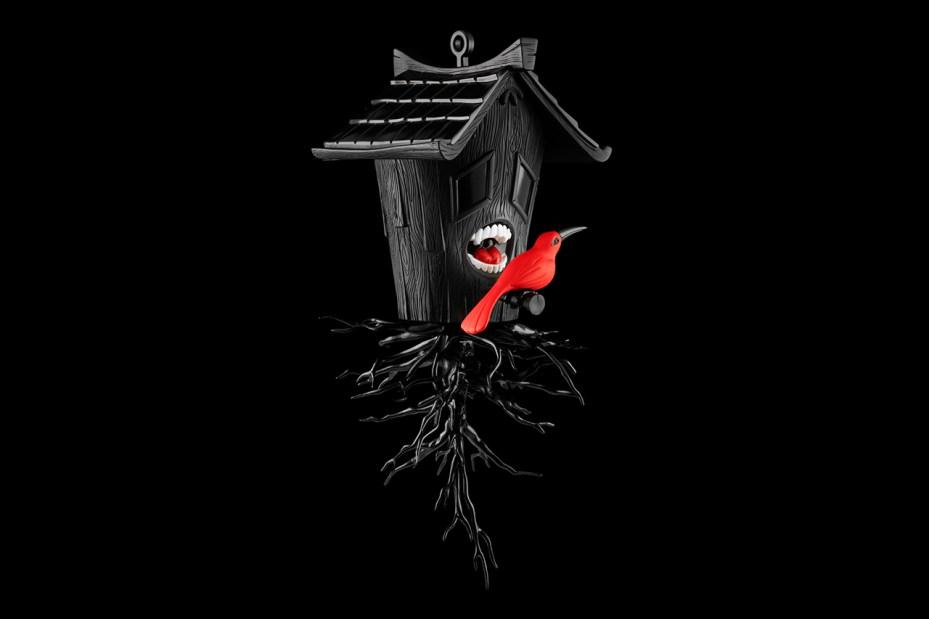 "Image of Blaine Fontana x Kidrobot Black ""Domestic Hunger"""