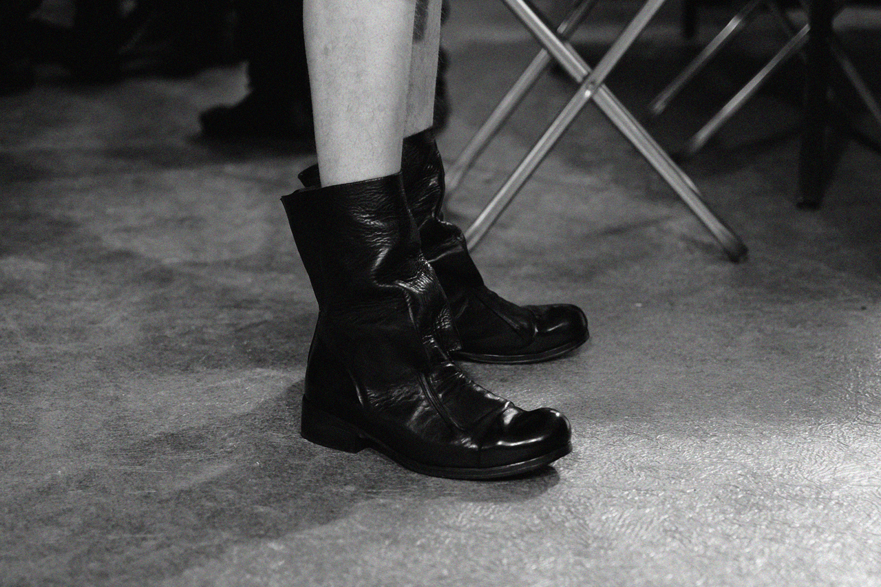 Image of Boris Bidjan Saberi 2013 Fall/Winter Backstage Visuals