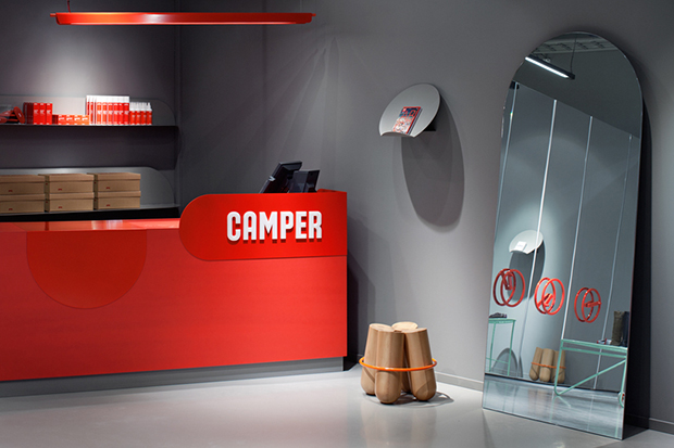 Image of Camper Shoe Testing Facility by Note Design Studio