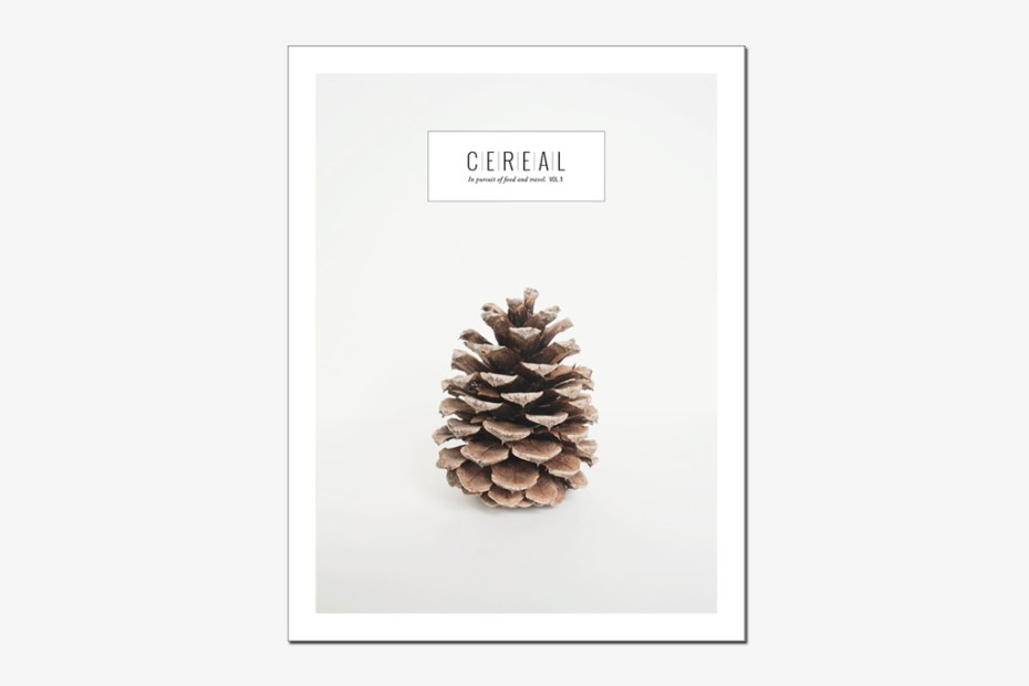 Image of Cereal Magazine Issue 1
