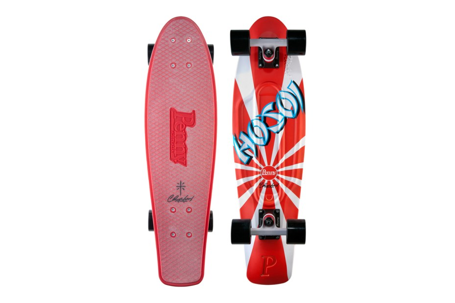 Image of Christian Hosoi Signs with Penny Skateboards