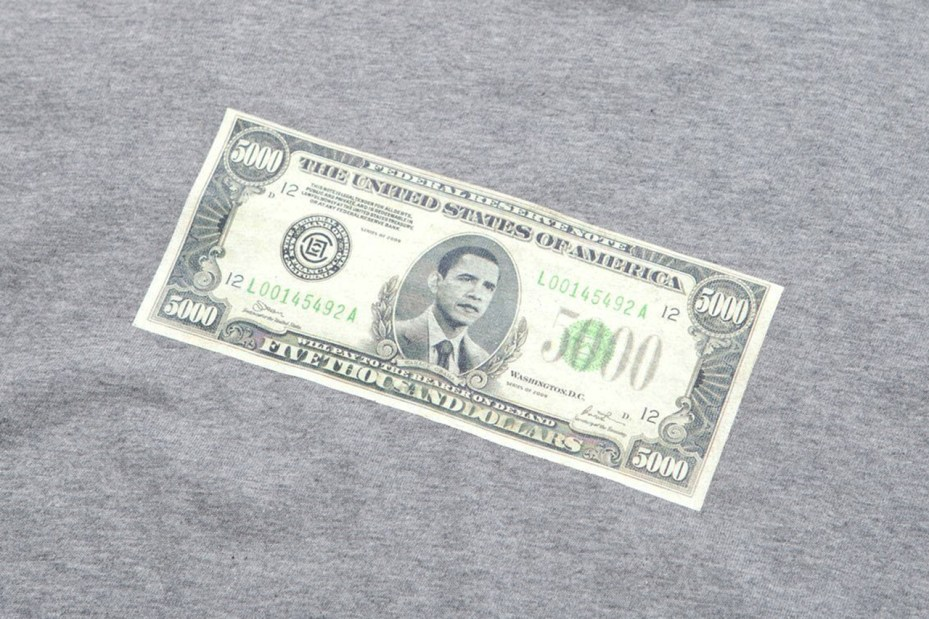 """Image of CLOT """"My President Is Black and Back"""" T-Shirt"""
