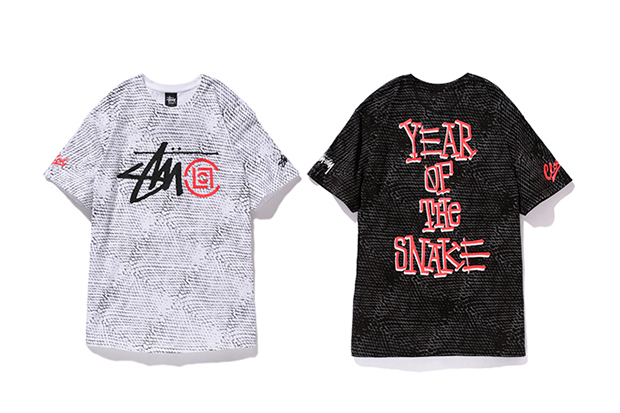 "Image of CLOT x Stussy Japan 2013 ""Year of the Snake"" Collection"