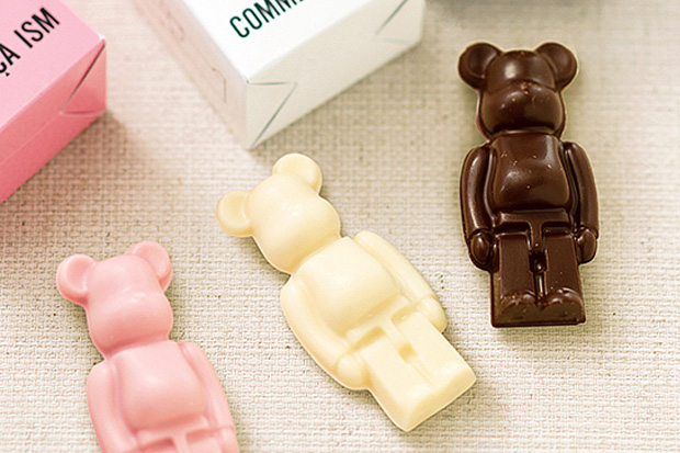 Image of COMME CA ISM x Medicom Toy Bearbrick Chocolate