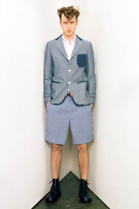 Image of COMME des GARCONS JUNYA WATANABE MAN 2013 Spring/Summer Collection Editorial
