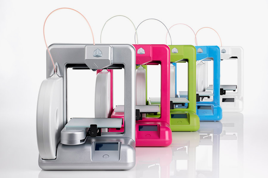Image of Cubify The Cube 3D Printer