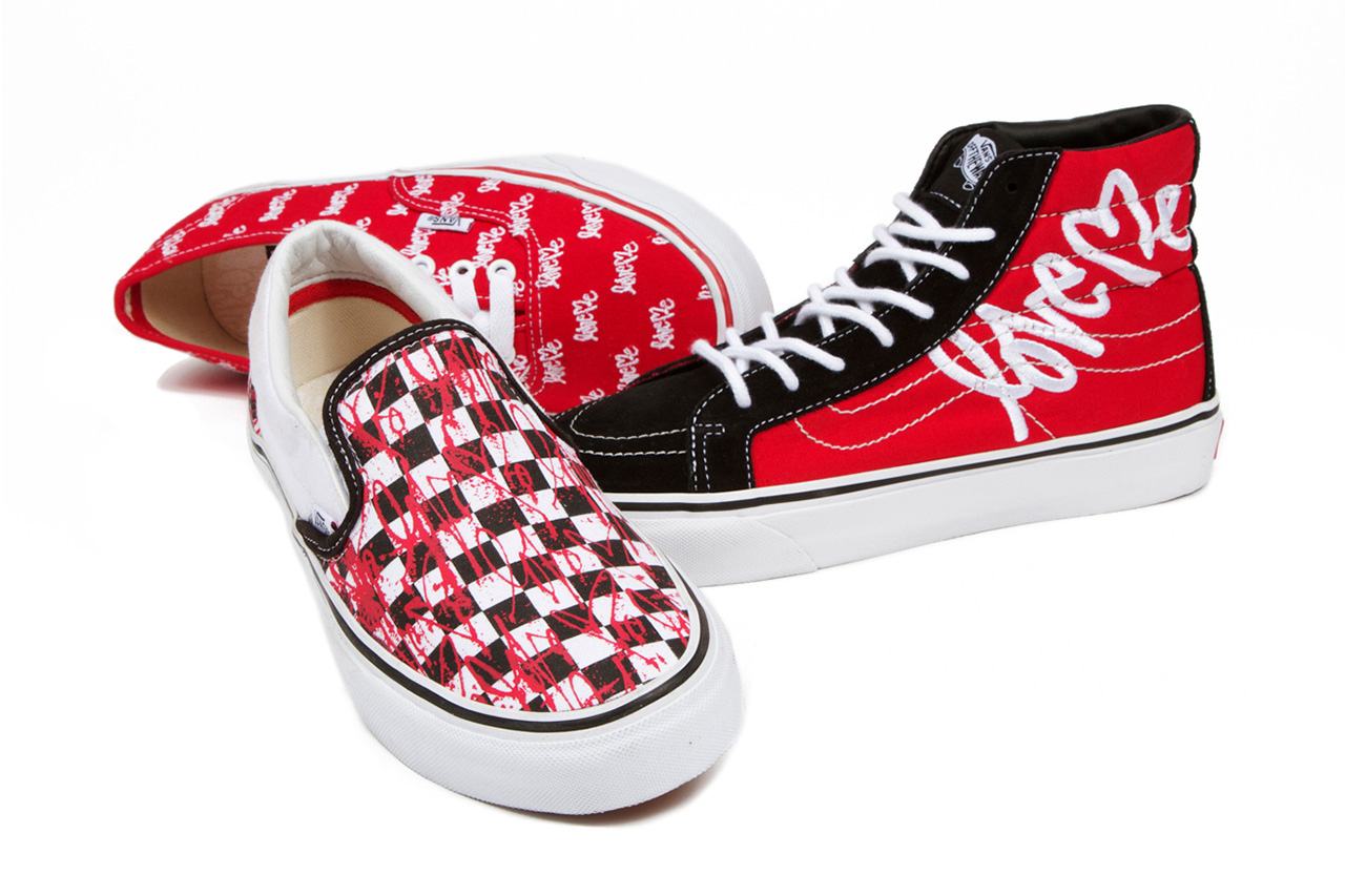 "Image of Curtis Kulig x Vans 2013 Spring ""LOVE ME"" Collection"