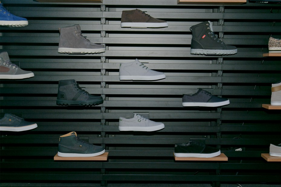 Image of DC Shoes @ BRIGHT Tradeshow January 2013