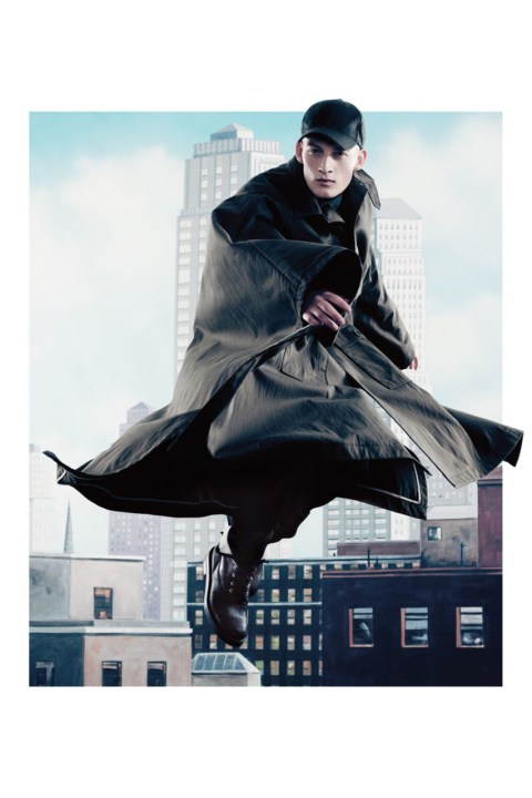 "Image of Dior Homme 2012 Fall/Winter ""City Heights"" Editorial"