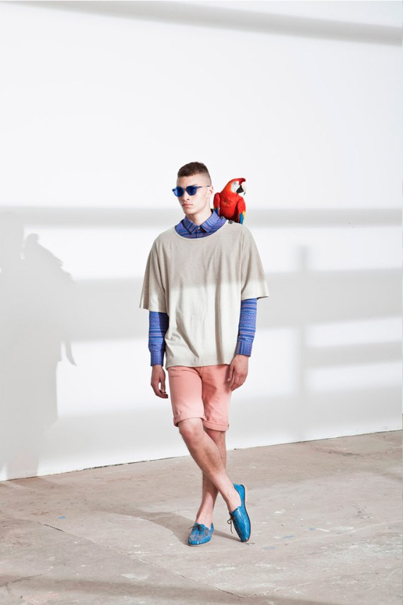 "Image of Études N°2 2013 Spring/Summer ""From Light and Shadow"" Lookbook"