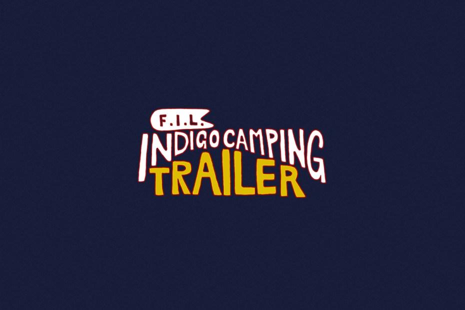 Image of F.I.L. Indigo Camping Trailer