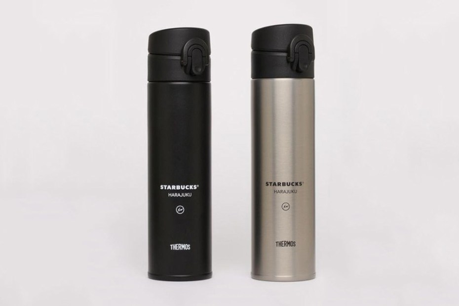 Image of fragment design x Starbucks B-Side Harajuku Beverage Bottle