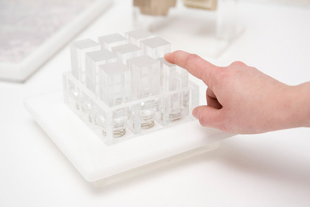 Image of Gabriele Meldaikyte Turns Apple's Multi-Touch Gestures into Sculpture