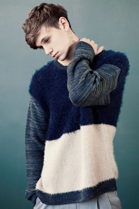 Image of Gareth Rhys for Clash Magazine