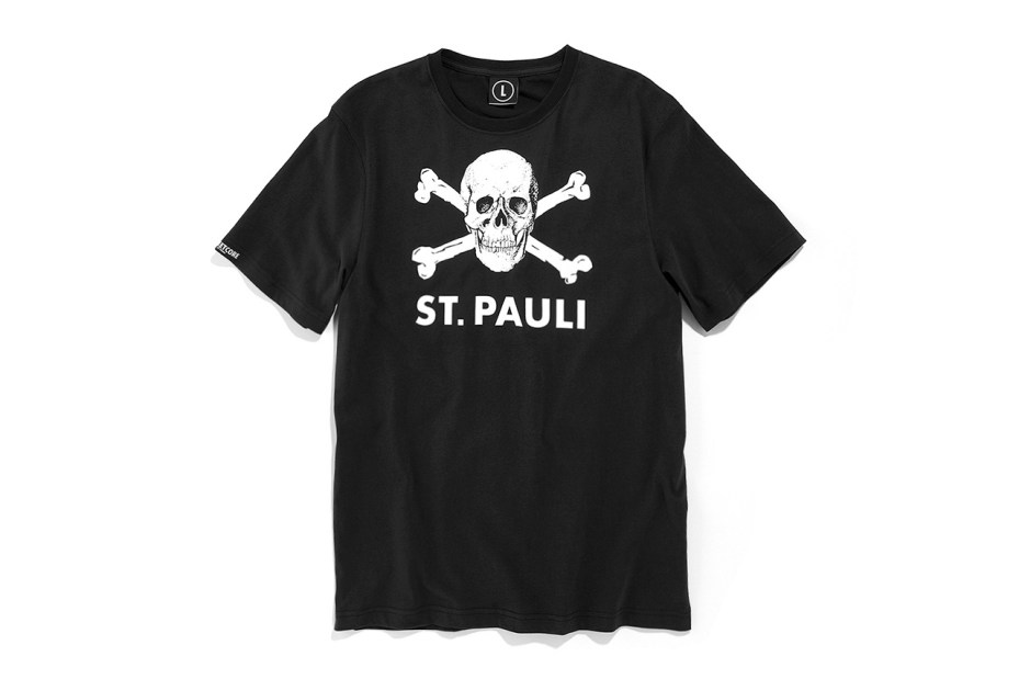Image of German Soccer Club St. Pauli Launch Their First Season of T-Shirts