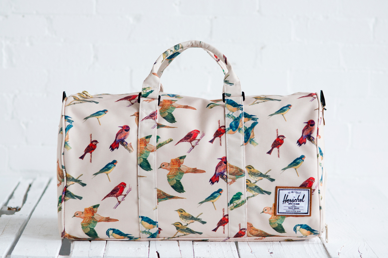 "Image of Herschel Supply Co. 2013 Spring Bad Hills ""Bird Print"" Collection"