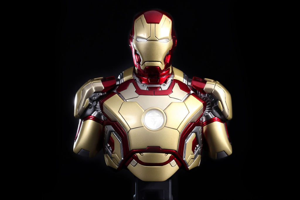 Image of Hot Toys Iron Man 3 Mark XLII Collectible Bust