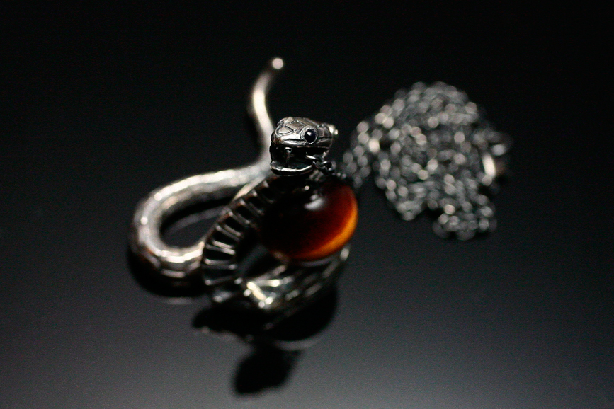 Image of JAM HOME MADE  Katsuhiko Sakamoto 2013 Zodiac Snake Necklace